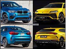 BildVergleich Lamborghini Urus gegen BMW X6 M F86