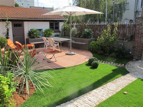 am 233 nagement jardin 100m2 hledat googlem patio outdoor space outdoor spaces and