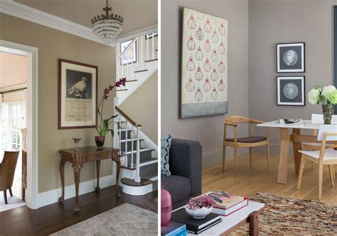 Class Family Home With Blue Pink And Gold Decor by 12 Best Beige Paints Curbed