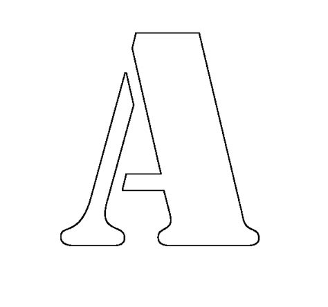 letter stencils clipart clipart suggest
