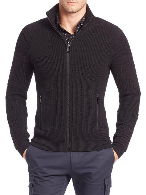 sweater for ralph black label ribbed merino wool sweater in