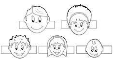 finger family paper finger puppets printable  toy