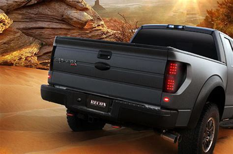 2010 f150 tail light 2009 2014 f150 raptor recon led tail lights smoked