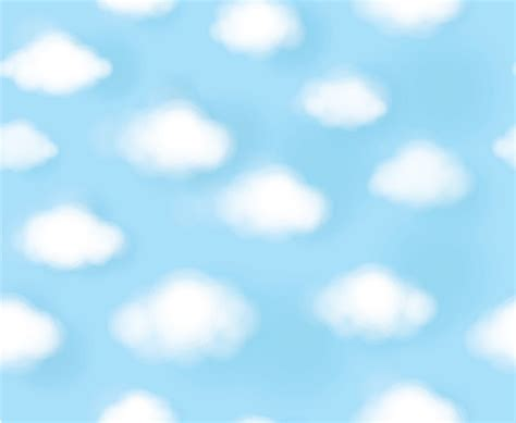 cute white puffy clouds   blue sky dreamy wallpaper