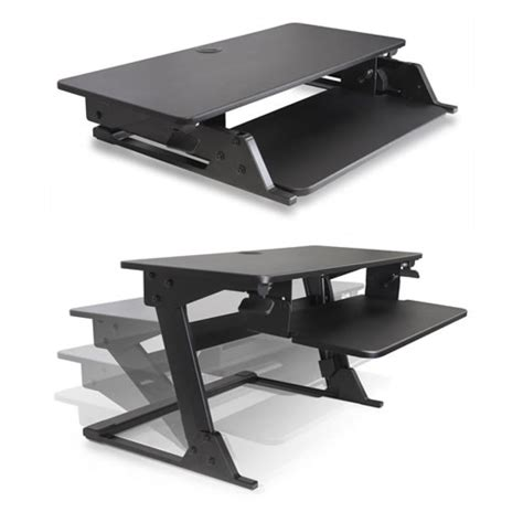 sit stand desk converter volante sit stand desk converter black mcaleer 39 s