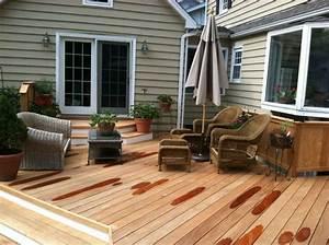 Decoration Terrasse En Bois : id e am nagement ext rieur d co de la terrasse en bois ~ Melissatoandfro.com Idées de Décoration