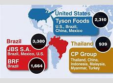 Infographic World's 5 largest poultryproducing companies