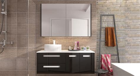 Black Bathroom Vanity Design,medicine Cabinet With Mirror