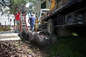 Confederate statue removed from downtown Gainesville ...