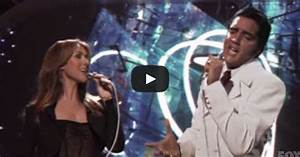"""Elvis and Celine Dion Duet of """"If I Can Dream"""""""