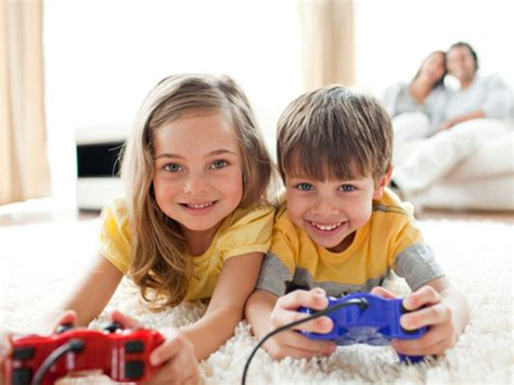 Playing Video Game In Small Doses Make Kids Emotionally