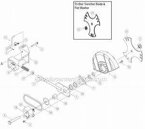 Troy-bilt 25b-554d766 Parts List And Diagram