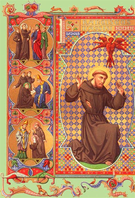 vie de franois d assise les cahiers de cassiciacum la vie de saintt fran 231 ois d assise f 234 te le 4 octobre
