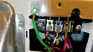 How To Install A Electric Dryer Cord  3 Or 4 Prong  Ground