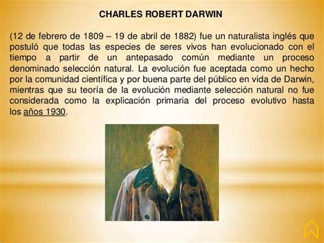 charles darwin resumen corto fil 243 sofos y sus aportaciones