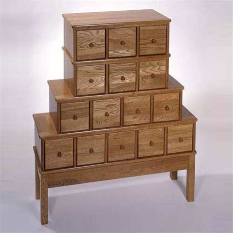 15 Drawer Cabinet by Wood 15 Drawer Cd Dvd Storage Cabinet Apothecary Style