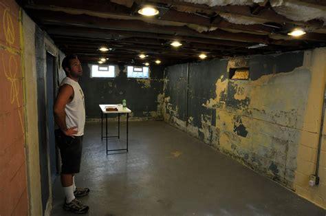 fromthefieryfurnace basement reno lights insulation