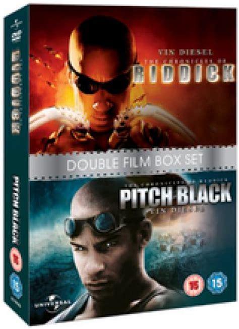 chronicles  riddick pitch black dvd zavvi