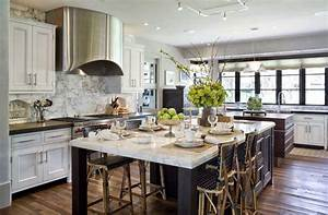 6 benefits of having a great kitchen island With kitchen cabinet trends 2018 combined with tree silhouette wall art