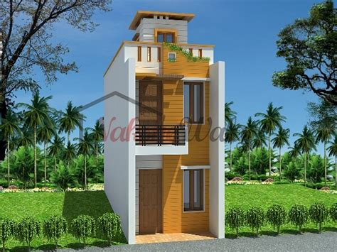 Front View Of Small House Design In India