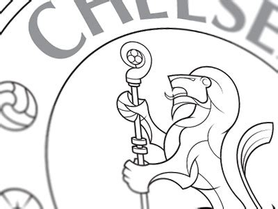 Chelsea FC Crest by Oliver Brant on Dribbble