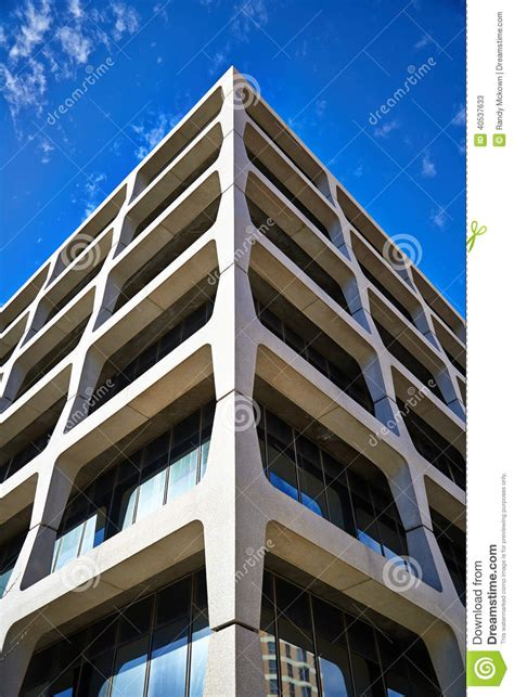 Modern Architecture In Kansas City Stock Image  Image Of
