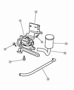 1997 Dodge Caravan Hose  Leak Detection Pump To Canister