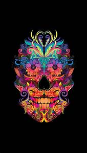 Instant Download Abstract Mexican Sugar Skull Art Sugar ...