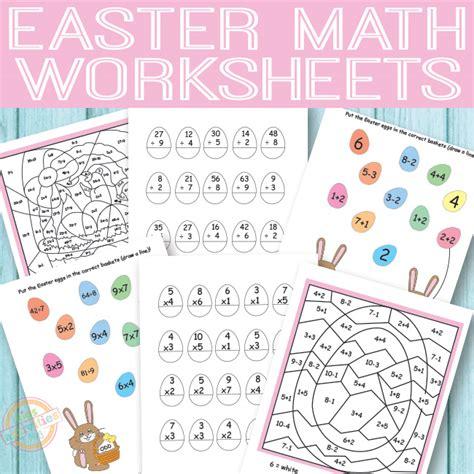 easter math worksheets free printables