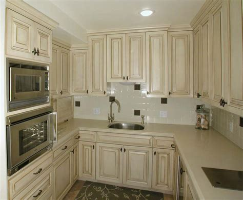 Ideas For Refinishing Kitchen Cabinets - beautiful white french country kitchen cabinets home design