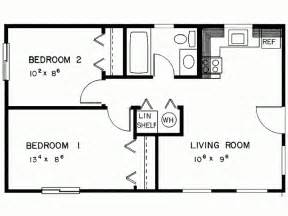 two bedroom cabin plans simple two bedrooms house plans for small home modern