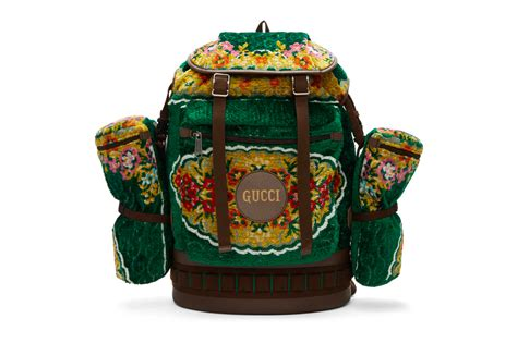 gucci oversized tapestry backpack release hypebeast