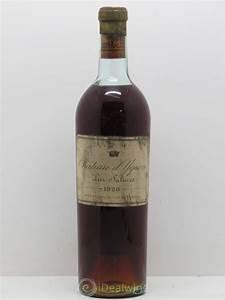 Buy Château d'Yquem 1er Cru Classé Supérieur 1928 (lot: 13063)