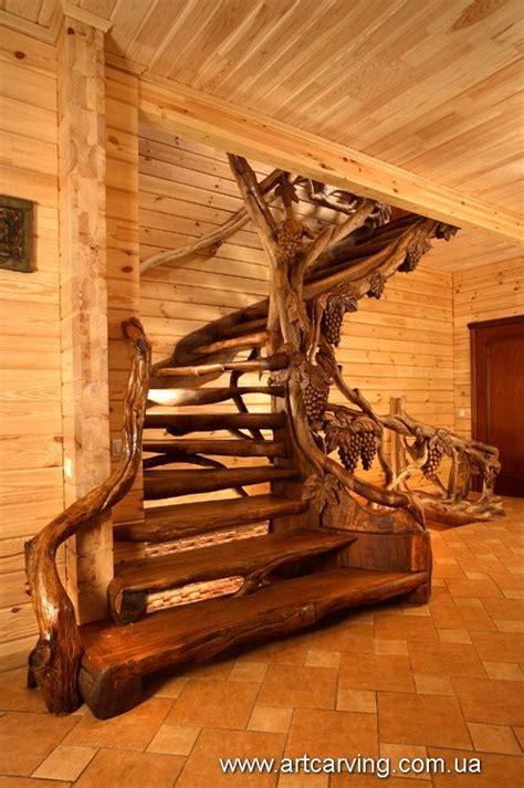 wood carvings in Ukraine | Staircase in 2019 | Stairs ...