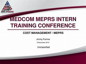 ppt medcom meprs intern training conference powerpoint With conference presentation template ppt