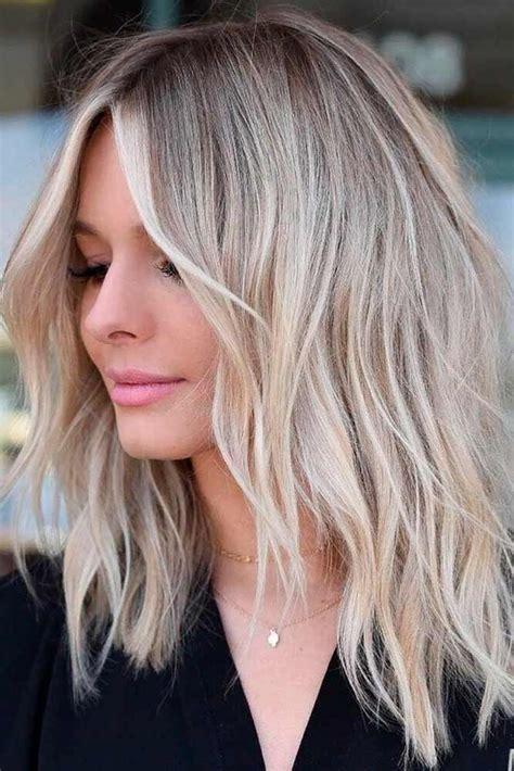 chic medium length layered haircuts   trendy