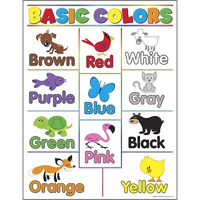 basic colors learning chart poster from trend 867 | T38208LRG56e7240b8443c