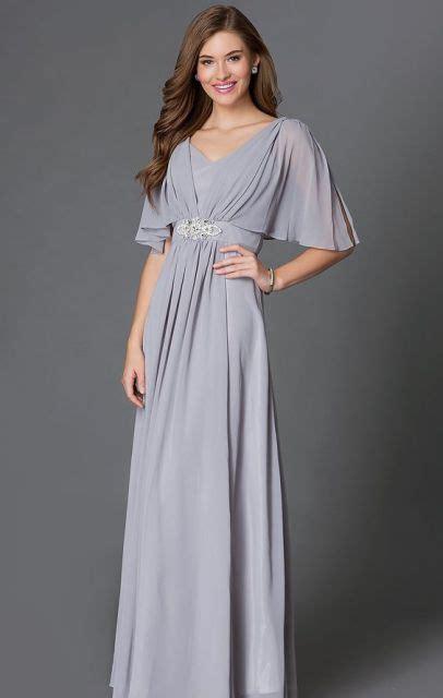 20 touching flutter sleeve bridesmaid dress ideas weddingomania