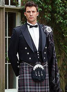 Formal kilt often seen as a wedding kilt