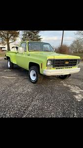 1977 Chevy Fire Truck Very Low Miles 4x4 Long Bed Stepside