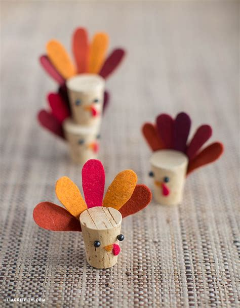 kid fall craft ideas diy cork turkey craft crafts kid and turkey 4794