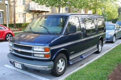 find   chevy express  conversion van