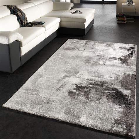 teppich modern design teppich canvas grau teppich de