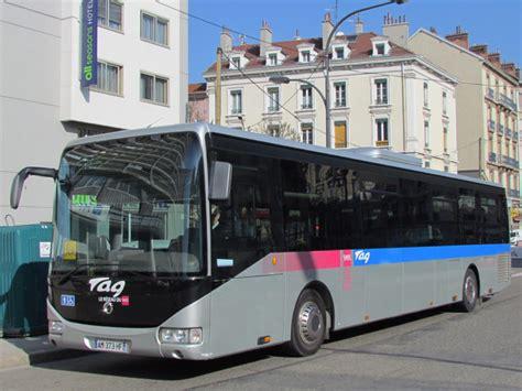 bureau tag grenoble trans 39 photothèque autobus irisbus crossway le