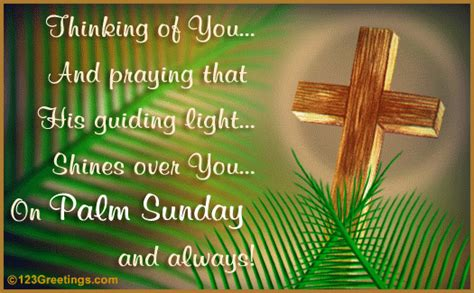 guiding light  palm sunday ecards greeting