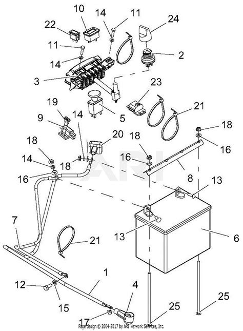 gravely 994128 041000 pro stance 52 parts diagram for