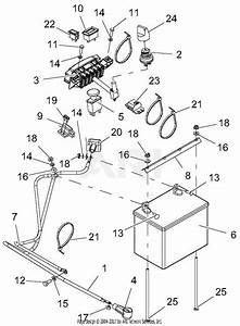 Gravely 994128  041000 -   Pro-stance 52 Parts Diagram For Wiring