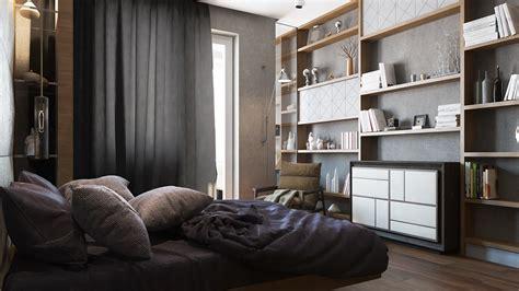 2 single bedroom apartment designs 75 square meters