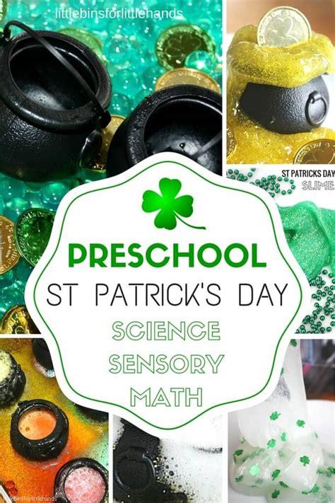 preschool st patricks day activities science experiments