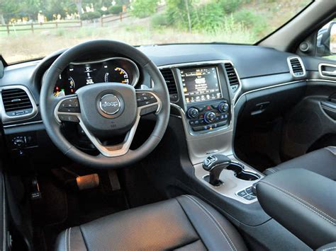 icon jeep interior 2015 jeep grand cherokee ecodiesel review and quick spin